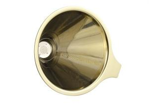 China Coffee Dripper Stainless Steel Cone Filter Single Layer For Coffee And Tea on sale