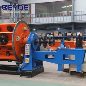 China High Speed Rigid Frame Strander , Wire Bunching Machine ISO9001 Standard on sale