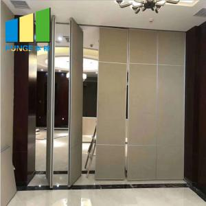 China Acoustic Mobile Soundproof Moving Sliding Partition Wall For Banquet Hall on sale