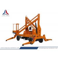 Diesel Power Mobile Crank Arm Lift Platform with 10m Working Height