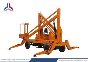 China Diesel Power Mobile Articulated Boom Lift with 10m Working Height on sale