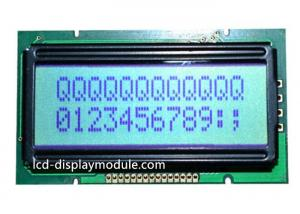 China 8 Bit Resolution 12x2 Dot Matrix LCD Display , Yellow Green LCD Character Display on sale
