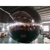 China PVC Waterproof 4m Flying Mirror Helium Balloon Lights 2000W 12 Pull Point on sale