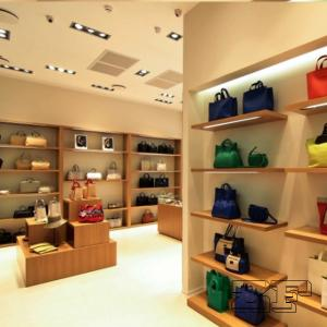Fashion Handbag Display Units Handbag Shop Interior Design For Sale