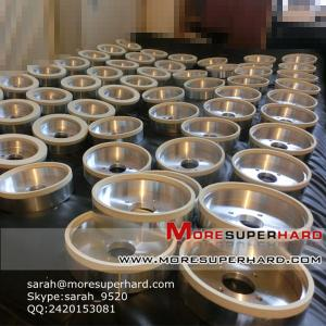 China Wheels for processing of ceramic and porcelain tiles  sarah@moresuperhard.com on sale