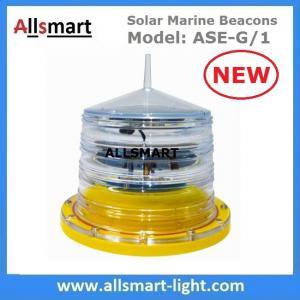 China Solar Marine Beacon Light Solar Aviation Obstruction Light Sea Navigation Buoy Lamp for Ship Aquaculture Bridge Tower on sale