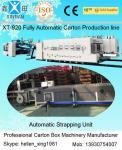 China Automatic Corrugated Paperboard Flexo Printer Slotter Folder Gluer with Bunding Machine wholesale