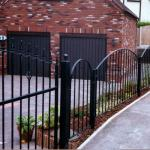 Wrought Iron Decorative security  fence for gate or outdoor BACKyard