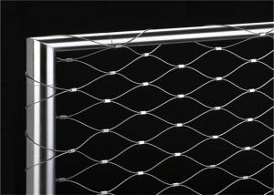 China Flexible Ferruled Stainless Steel Wire Rope Mesh For Balustrade Railing on sale