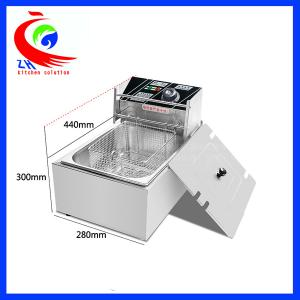 China One Basket Commercial Electric countertop deep fryer 5.5L for Home on sale