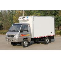 China Small Refrigerated Truck Trailer 0.5t-1t Light Freezer Box Truck Cummins / Chaochai Engine on sale