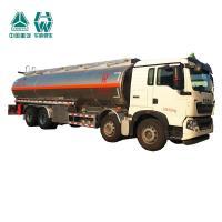 Multi Color Diesel Fuel Trailer , Customized Size Aluminum Tanker Trailer