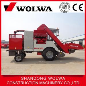 China 2.5 m3 tank Combine corn harvester WOLWA W4YM-3 wheel type on sale