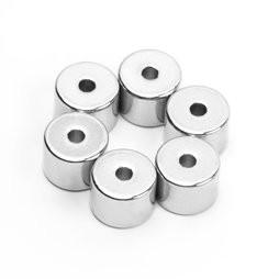 China N50 OD20*ID5.2*5mm Neodymium Magnet Axial Magnetized Ring Magnet on sale
