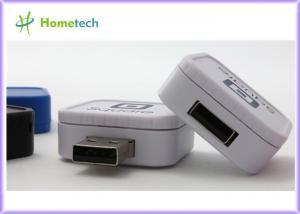 China Box Shaped USB Memory Stick 2GB / 4GB / 8GB Metal USB Flash Drive on sale