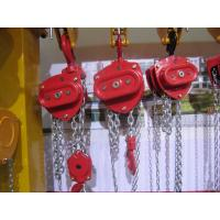 Building Lifting Tools Chain Block Manual Chain Hoist 1 - 30 Ton Capacity