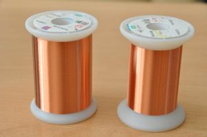 China Solderable Polyurethane Transformer Copper Wire 0.012 - 4.5mm For Motor Relay on sale