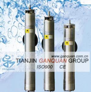 China Geothermal submersible borehole pump on sale