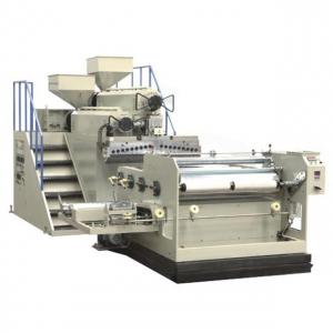 China LLDPE Film Blowing Machine , Twin Screw Extruder Machine High Speed on sale