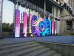 China P4.81 water proof Solemn Event outside led screen 500*500 cabinet size wholesale
