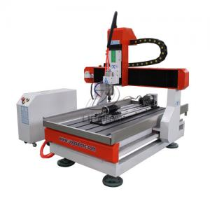 China Desktop 4 Axis 6090 CNC Router  Engraving Machine for Wood Metal Stone on sale