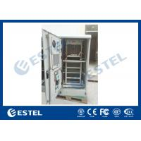 Custom Galvanized Steel Outdoor Power Enclosure Equipment Rack Cabinet