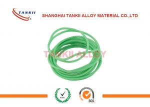 China White And Green Kc Thermocouple Cable With PTFE Insualtion And Metal Screen on sale