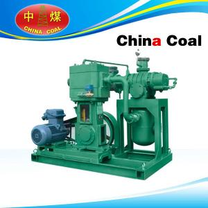 China Roots oil-free vertical reciprocating vacuum unit on sale