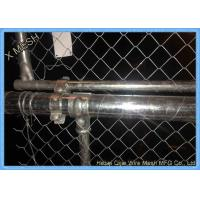 Commercial And Residential PVC Coated Chain Link Fencing 1.5 Inch ISO Listed