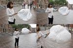 2012 2012年のロンドンのオリンピックのための熱伝達を用いる新しい設計傘