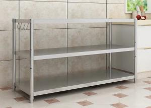 China H137 Stainless Steel Kitchen Rack Corrosion Protection With Optimum Strength on sale