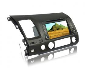 China Reproductor de DVD de radio auto de la pantalla táctil con GPS, FM, USB, SD, TV, antena para Honda Civic on sale