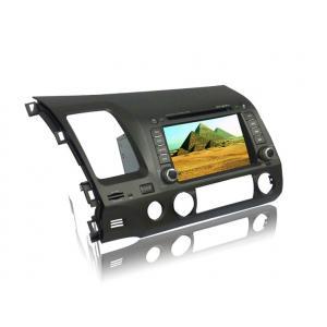 China Lecteur DVD par radio automatique d'écran tactile avec GPS, AM, FM, USB, écart-type, TV, antenne pour Honda Civic on sale