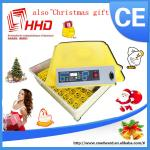 China Hatching 48 Eggs Transparent Cheap Fully Automatic Egg Incubator Usable For Quail Eggs wholesale