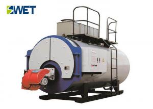 China High Efficiency Gas Oil Fired Steam Boiler , 5 T/H Oil Fired Residential Boilers on sale
