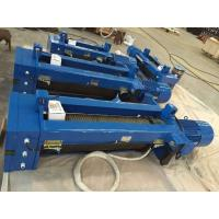China Single Girder Electric Wire Rope Hoist European design With Low - Voltage Protection on sale
