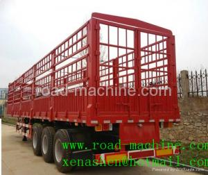 China SINOTRUK 3 AXLES HIGH COLOUMN CARGO TRAILER on sale