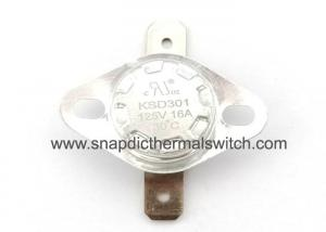 China Normally Closed Disc Thermostat Open On Rise High Temperature Resistance on sale