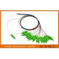 Broadband FTTH Splitter Coupler 1 x 16,1:16 Fiber Optic PLC Splitter Ribbon 900um SC APC Connectors