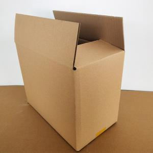 China Customer strong any size packing box corrugated B flute paper box on sale