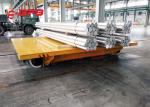 Load 1000t Q235 Self Loading Motorised Trolleys Carts