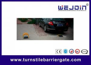 China Manual Parking Lot Equipment Remote Parking Lock , Water Resistant Car Park Barrier on sale