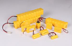 China AA 0.8 Ah 1.2v Nicd Rechargeable Battery Pack For Metal Detector supplier