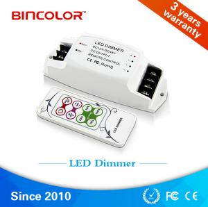 China DC12V 48v Rf Mini Led Dimmer Mono/ led strip lighting dimming controller on sale
