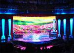 Mobile Portable LED Backdrop Screen Rental , P4 Indoor LED Display BoardFull Color