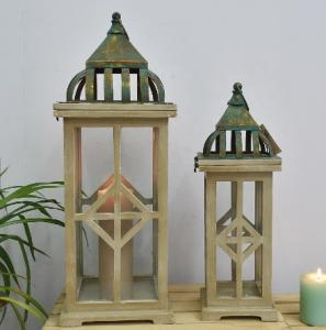 China Antique Candle Holders Wooden Lights Candlestick Crafts Home Decor candle holders candle lantern on sale