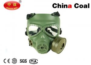 China ABS Material Safety Protection Equipment Airsoft Respirator Full face Protection Gas Mask on sale