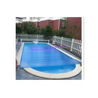 Above Ground Pool / Swimming Pool Control System Transparent Blue PVC Material Cover