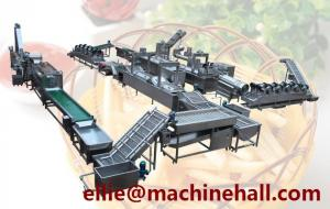 China Frozen French Fries Processing Line Making Equipment With Factory Price on sale
