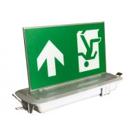 China Industrial LED Plastic Green Running Man Sign Ceiling Recessed Emergency Light on sale